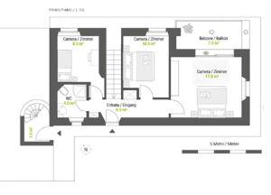 Casa Capriola A 150 mq